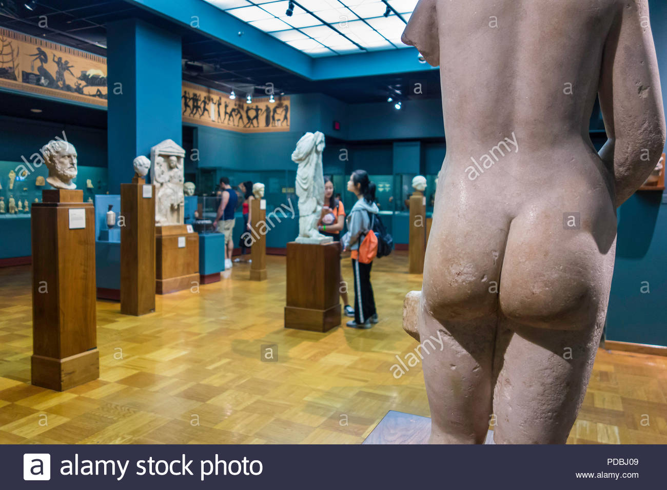 roman-statuary-in-the-roman-room-at-roya