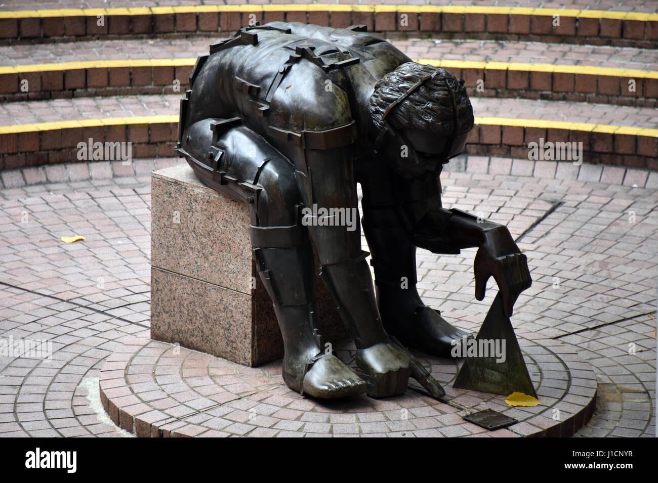 Statues at Kowloon Park, Hong Kong - Stock Image