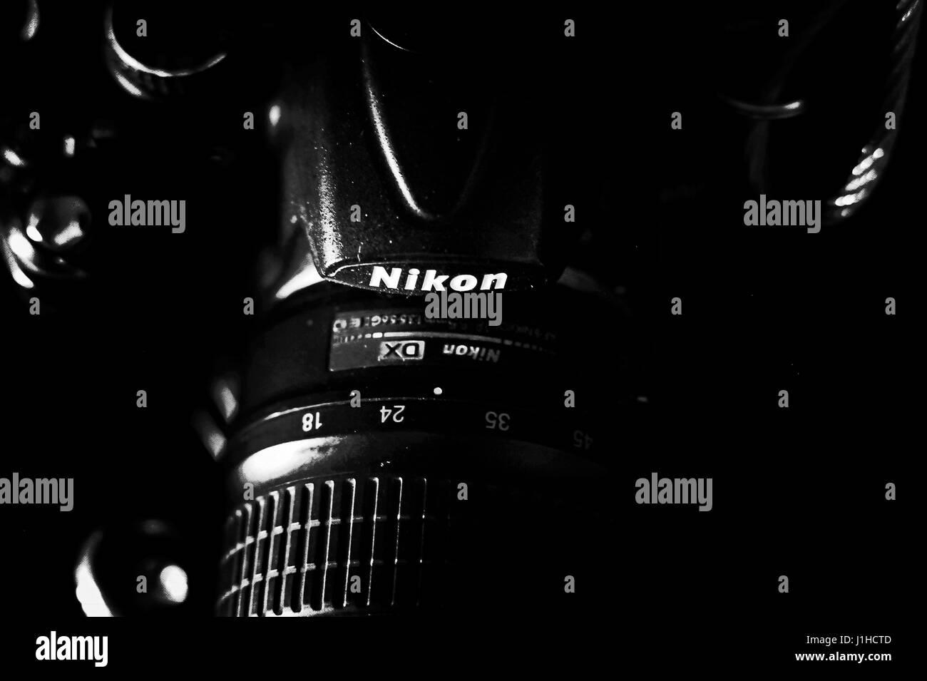 Nikon Camera - Stock-Bilder