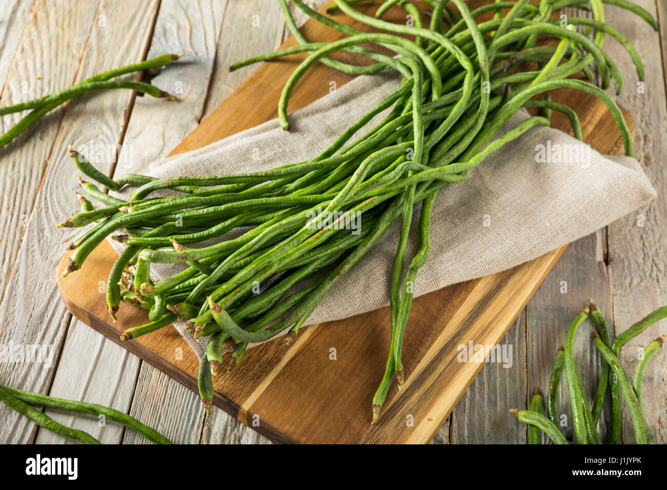 how to cook raw green beans in the oven