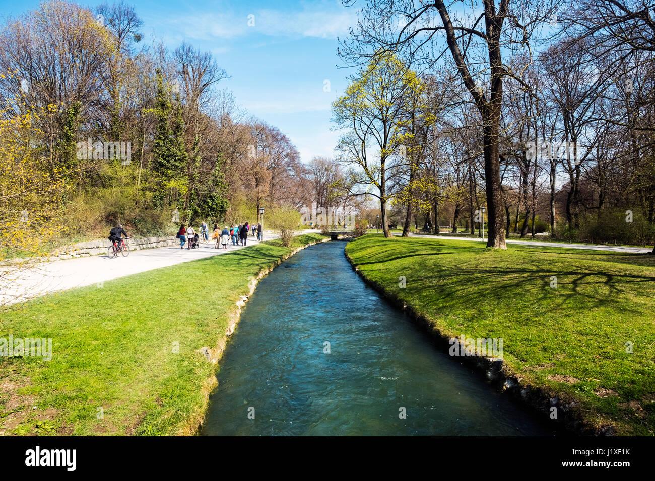 Englischer Garten, Munich Stock Photos & Englischer Garten, Munich Stock Images - Alamy