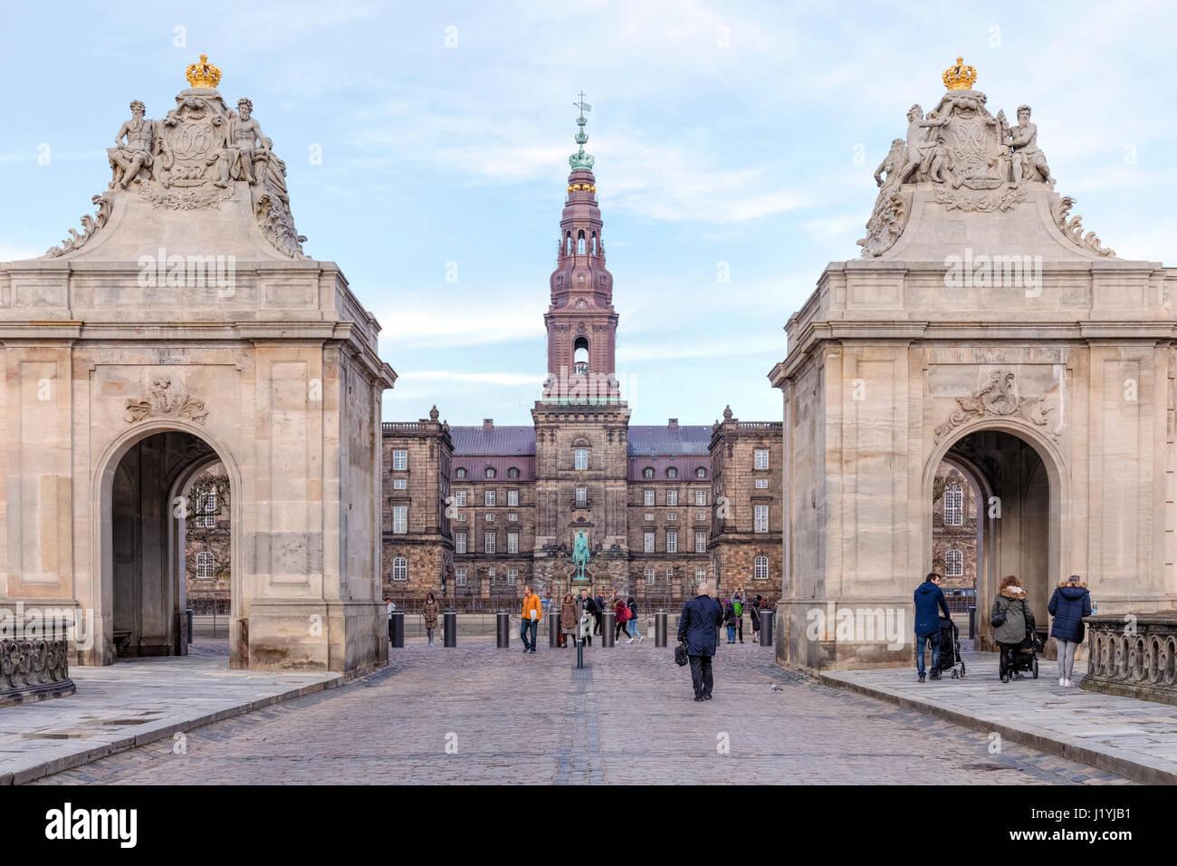 Christiansborg, Copenhagen, Denmark, Scandinavia - Stock-Bilder