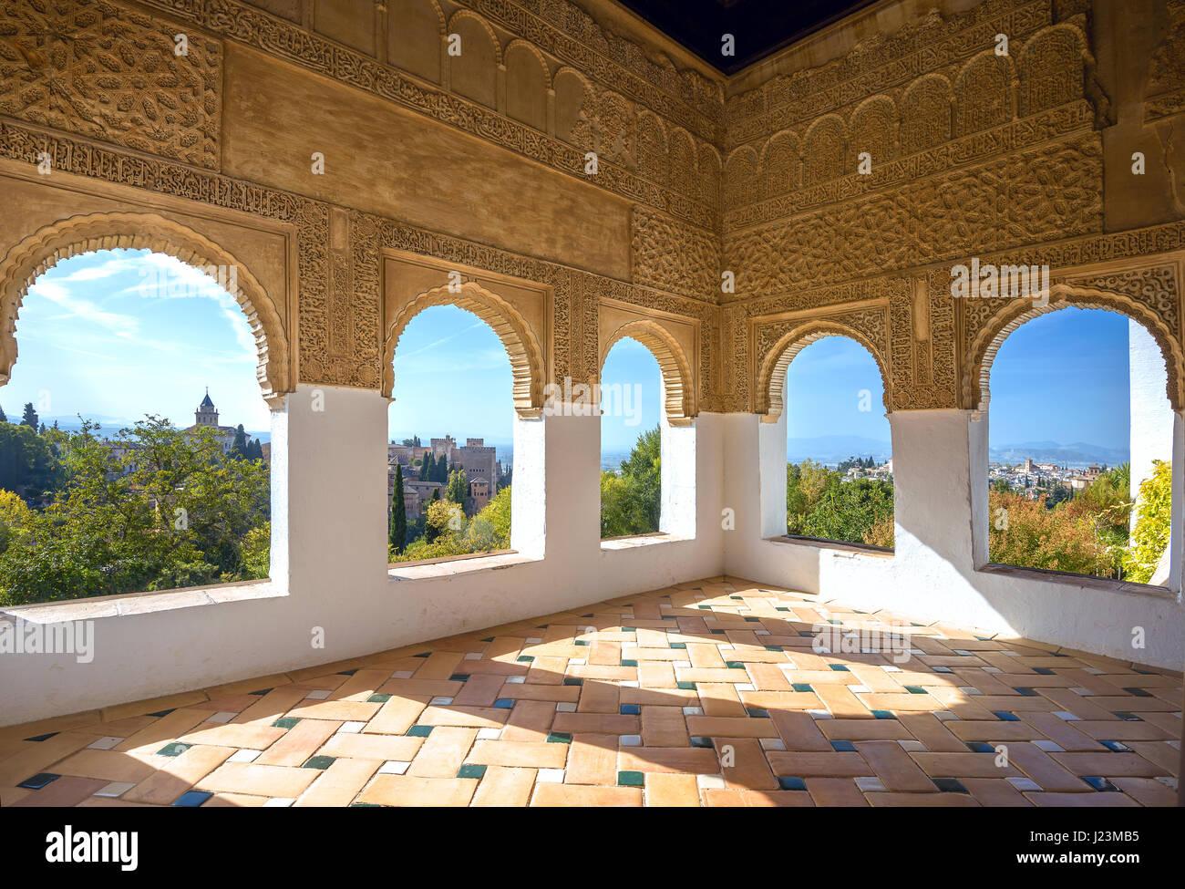 Interior alhambra stock photos interior alhambra stock for Alhambra decoration