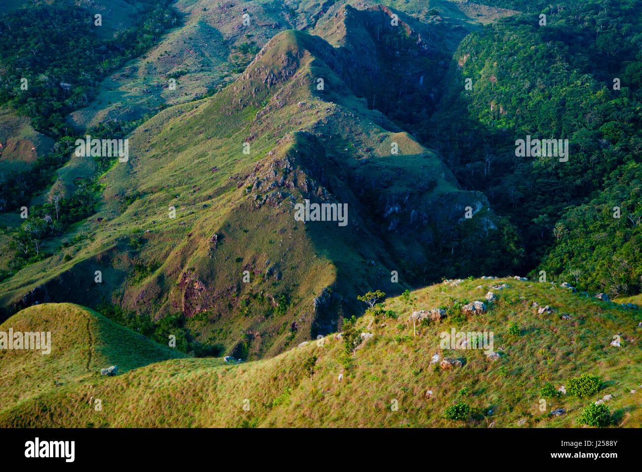 Landscape in Altos de Campana National Park, Republic of Panama - Stock-Bilder