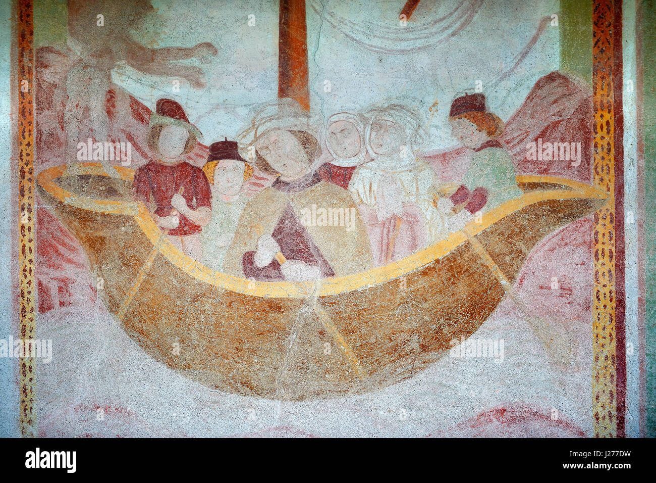 Church wall murals stock photos church wall murals stock for Christian mural