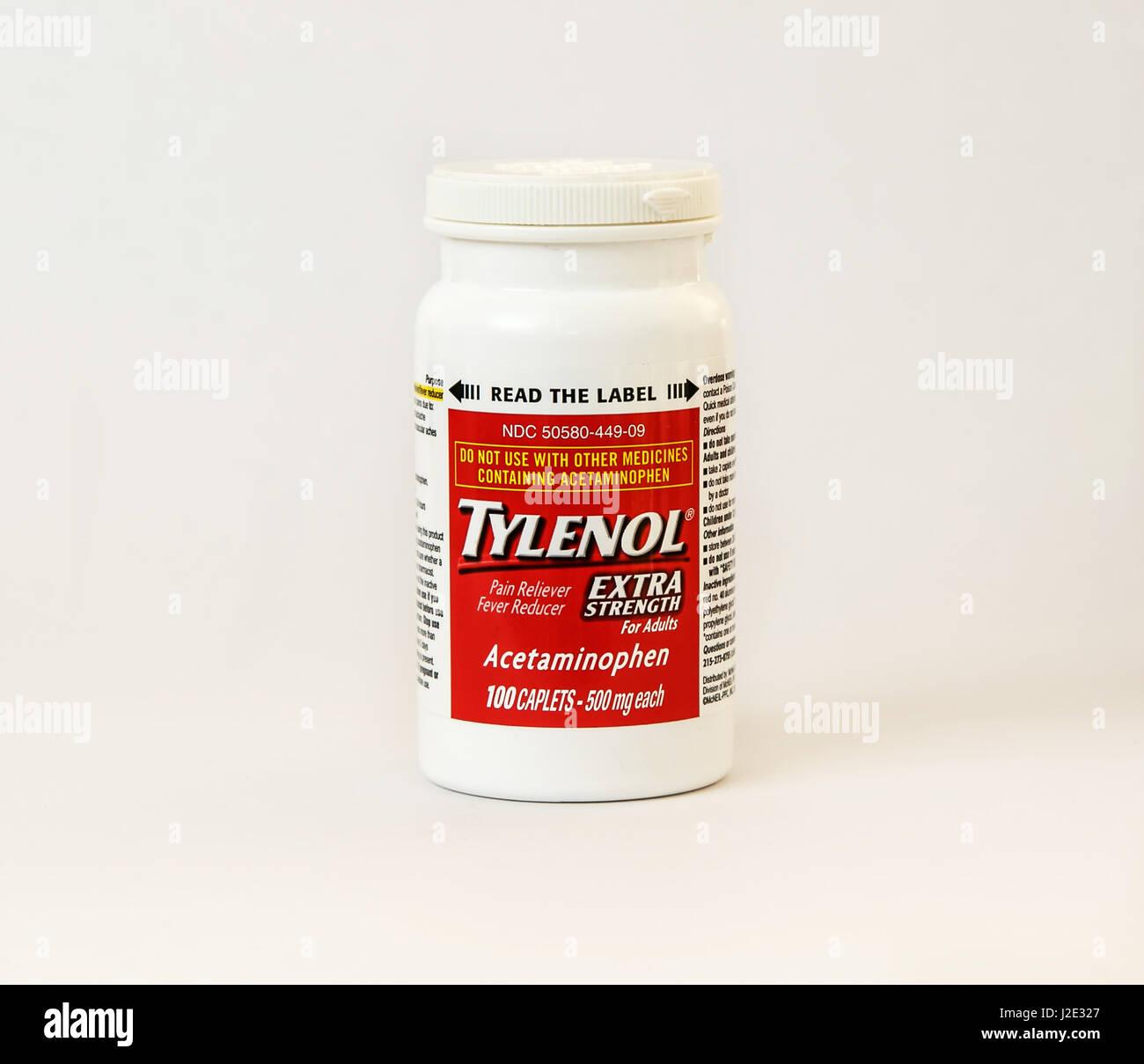 Tylenol 3 Ingredients