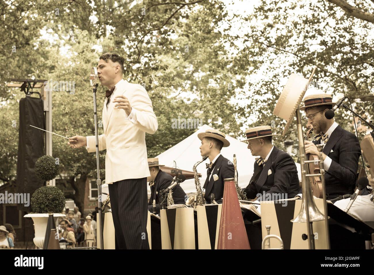 Governors Island New York Jazz Age