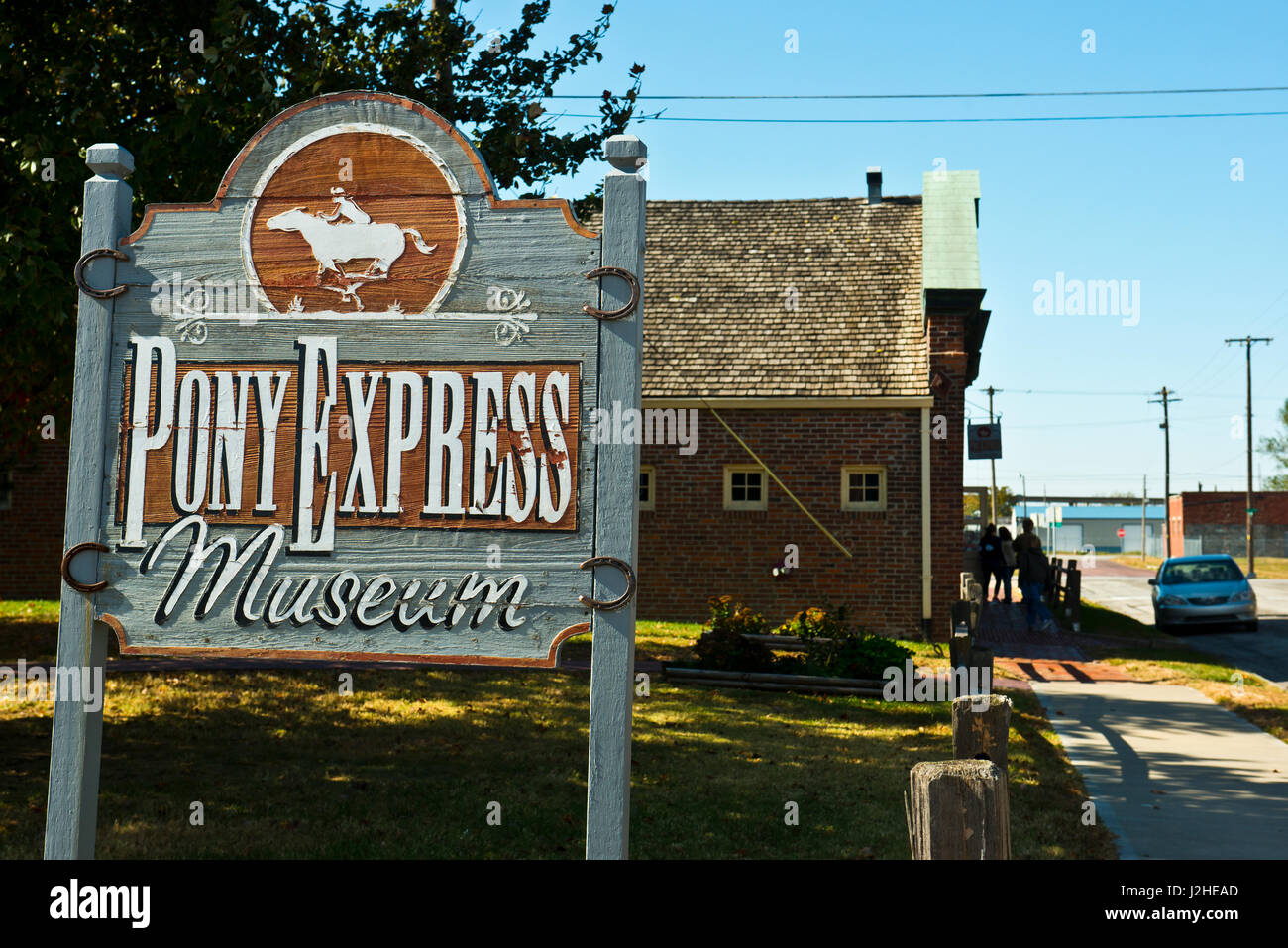 Pony express museum stock photos pony express museum stock images alamy - National express head office number ...