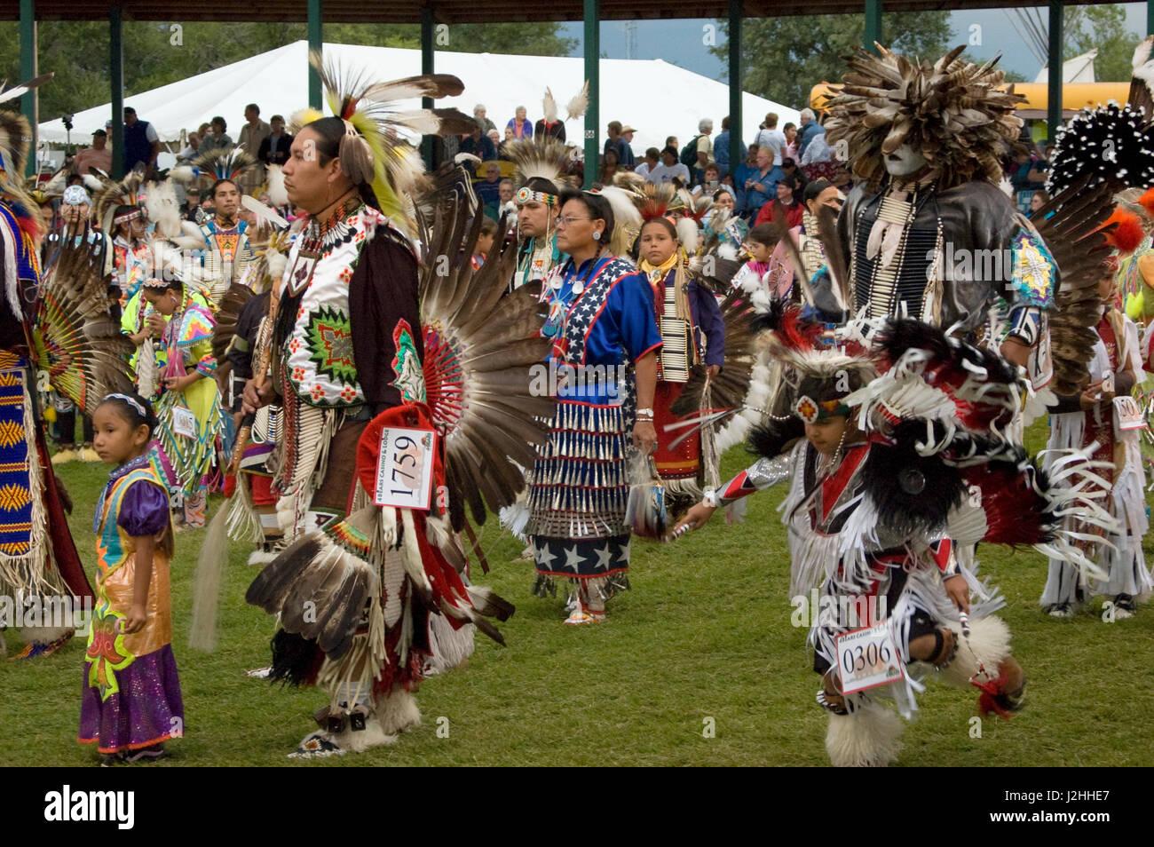 Traditional Pow Wow, Fort Berthold - Stock-Bilder