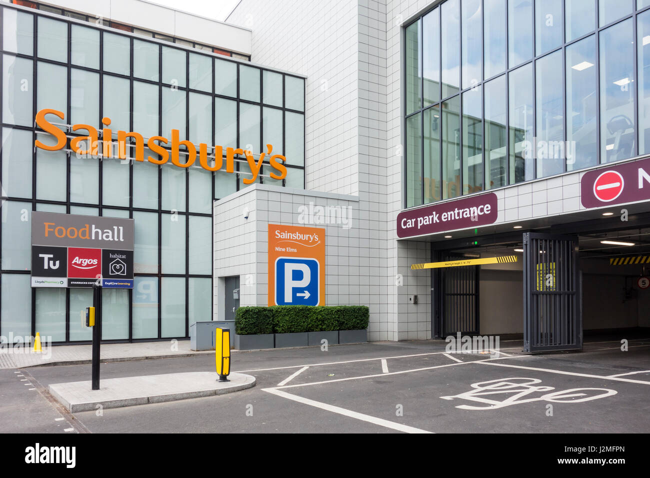 Kensigton Sainsbury Car Park