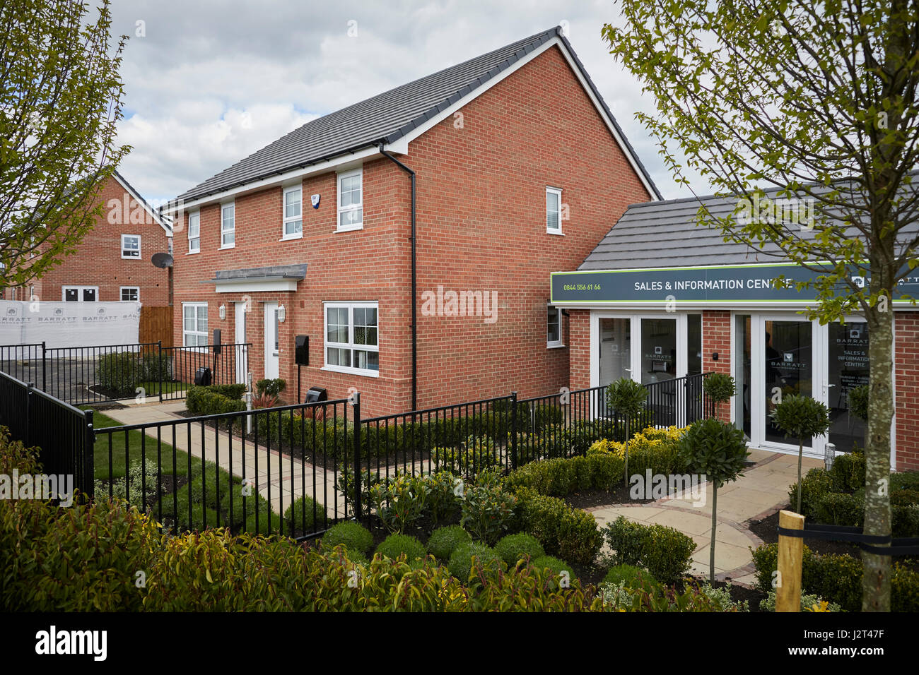 New barratt homes housing development stock photos new for North west house