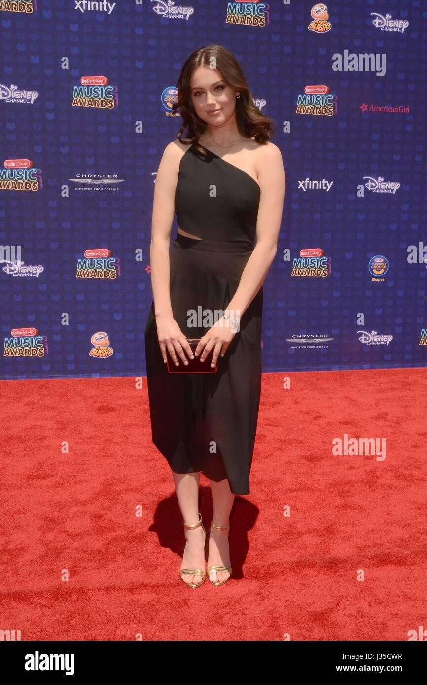 Bailey Bryan at arrivals for Radio Disney Music Awards - ARRIVALS, Microsoft Theater, Los Angeles, CA April 29, - Stock-Bilder