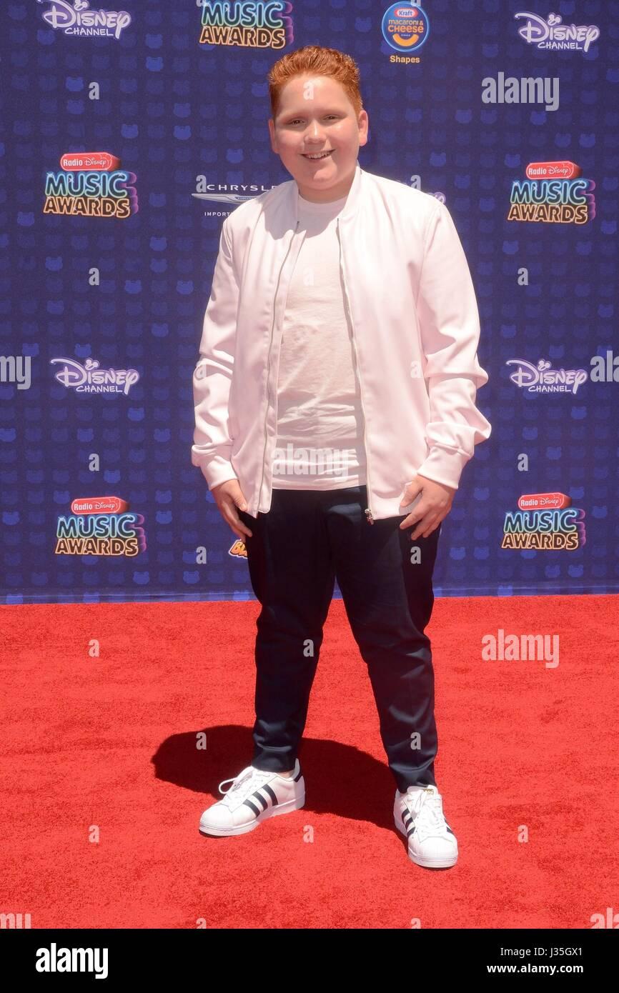 Benjamin Royer at arrivals for Radio Disney Music Awards - ARRIVALS, Microsoft Theater, Los Angeles, CA April 29, - Stock-Bilder
