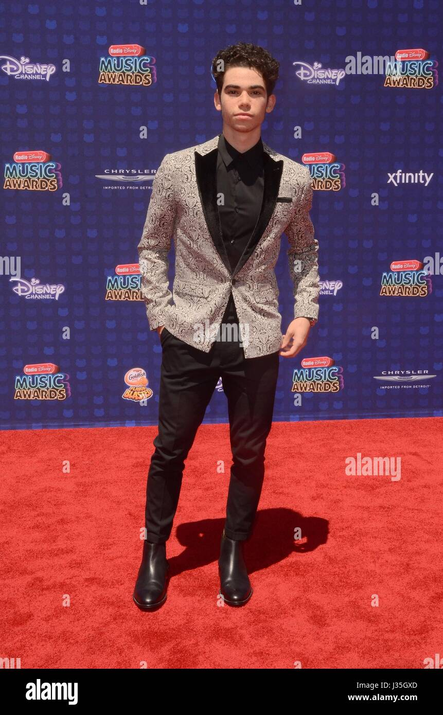 Cameron Boyce at arrivals for Radio Disney Music Awards - ARRIVALS, Microsoft Theater, Los Angeles, CA April 29, - Stock-Bilder