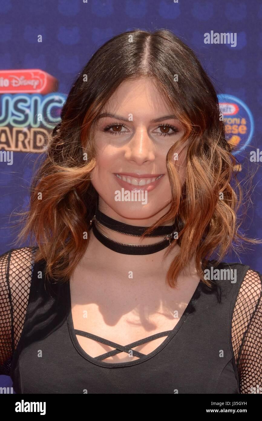 Frankie at arrivals for Radio Disney Music Awards - ARRIVALS, Microsoft Theater, Los Angeles, CA April 29, 2017. - Stock-Bilder