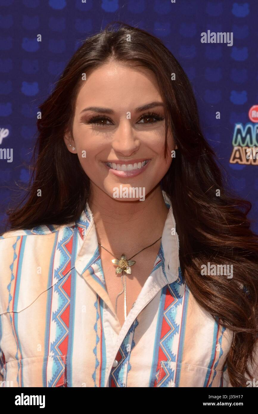Lacy Cavalier at arrivals for Radio Disney Music Awards - ARRIVALS, Microsoft Theater, Los Angeles, CA April 29, - Stock-Bilder