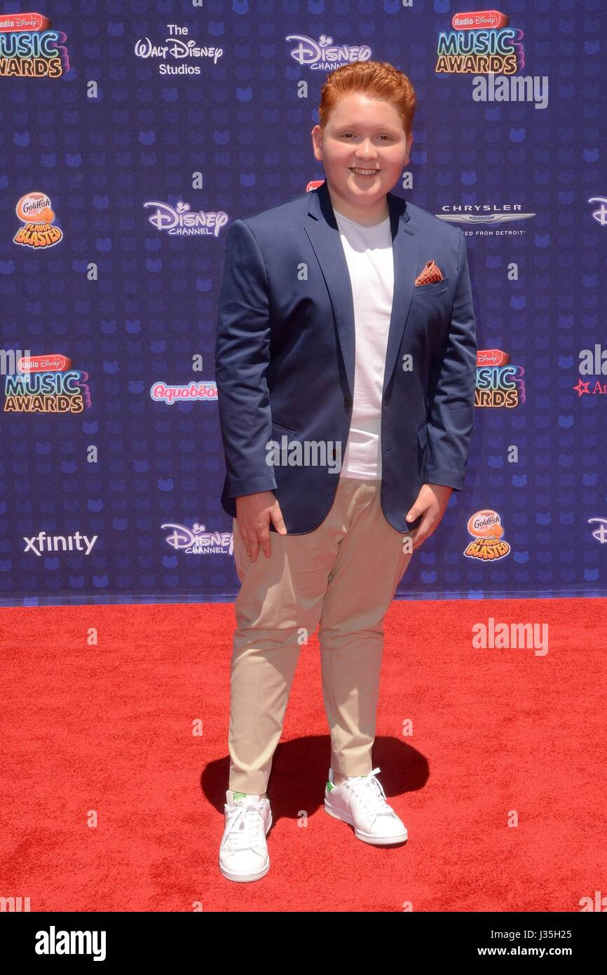 Matthew Royer at arrivals for Radio Disney Music Awards - ARRIVALS, Microsoft Theater, Los Angeles, CA April 29, - Stock-Bilder