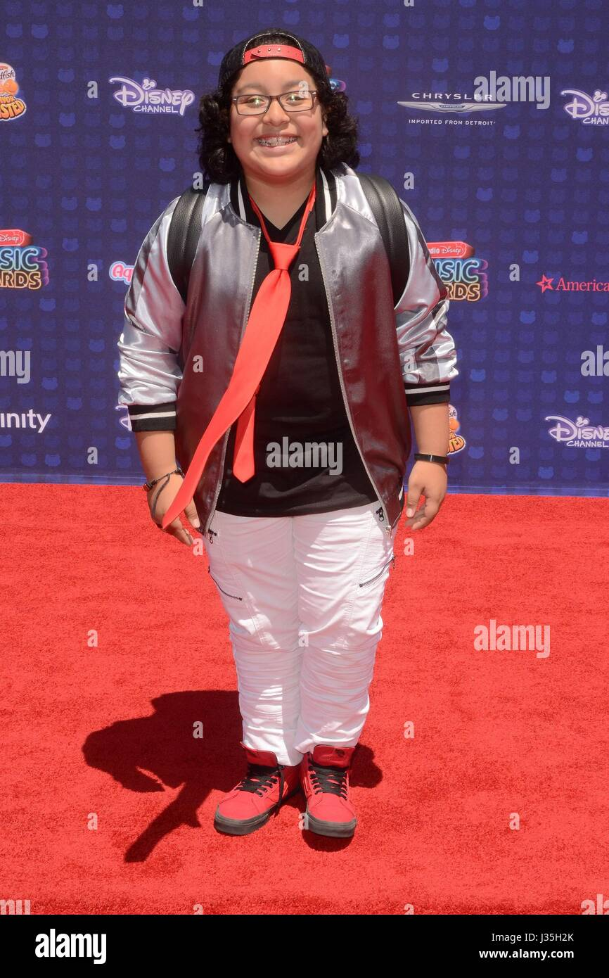 Nathan Arenas at arrivals for Radio Disney Music Awards - ARRIVALS, Microsoft Theater, Los Angeles, CA April 29, - Stock-Bilder