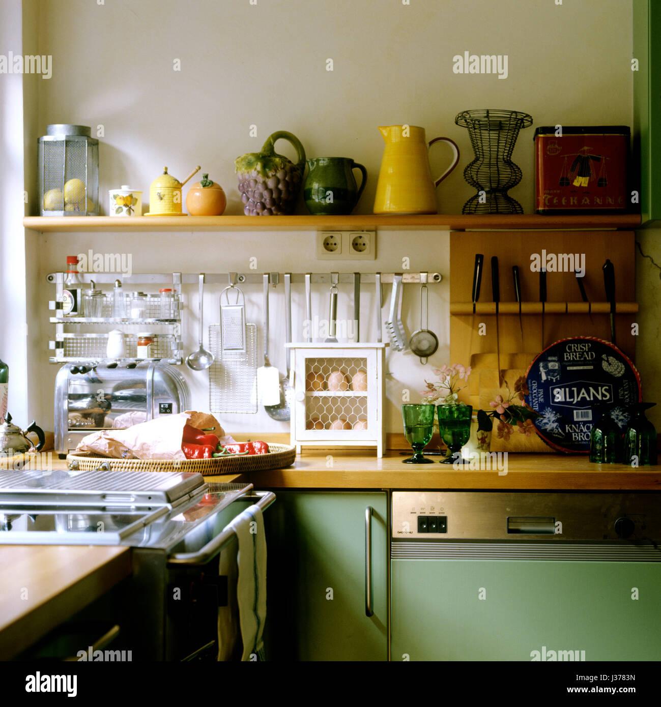 Kitchen Cabinet Vancouver Glassware Display Kitchen Stock Photos Amp Glassware Display