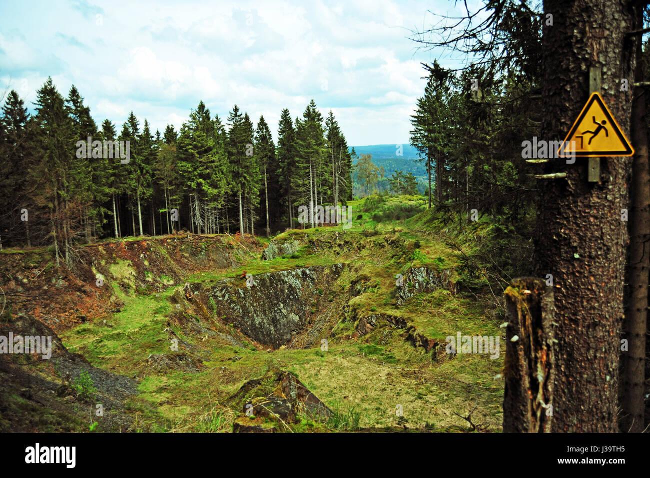 Pathelbruch, Steinach, Thüringer Wald, Deutschland - Stock-Bilder