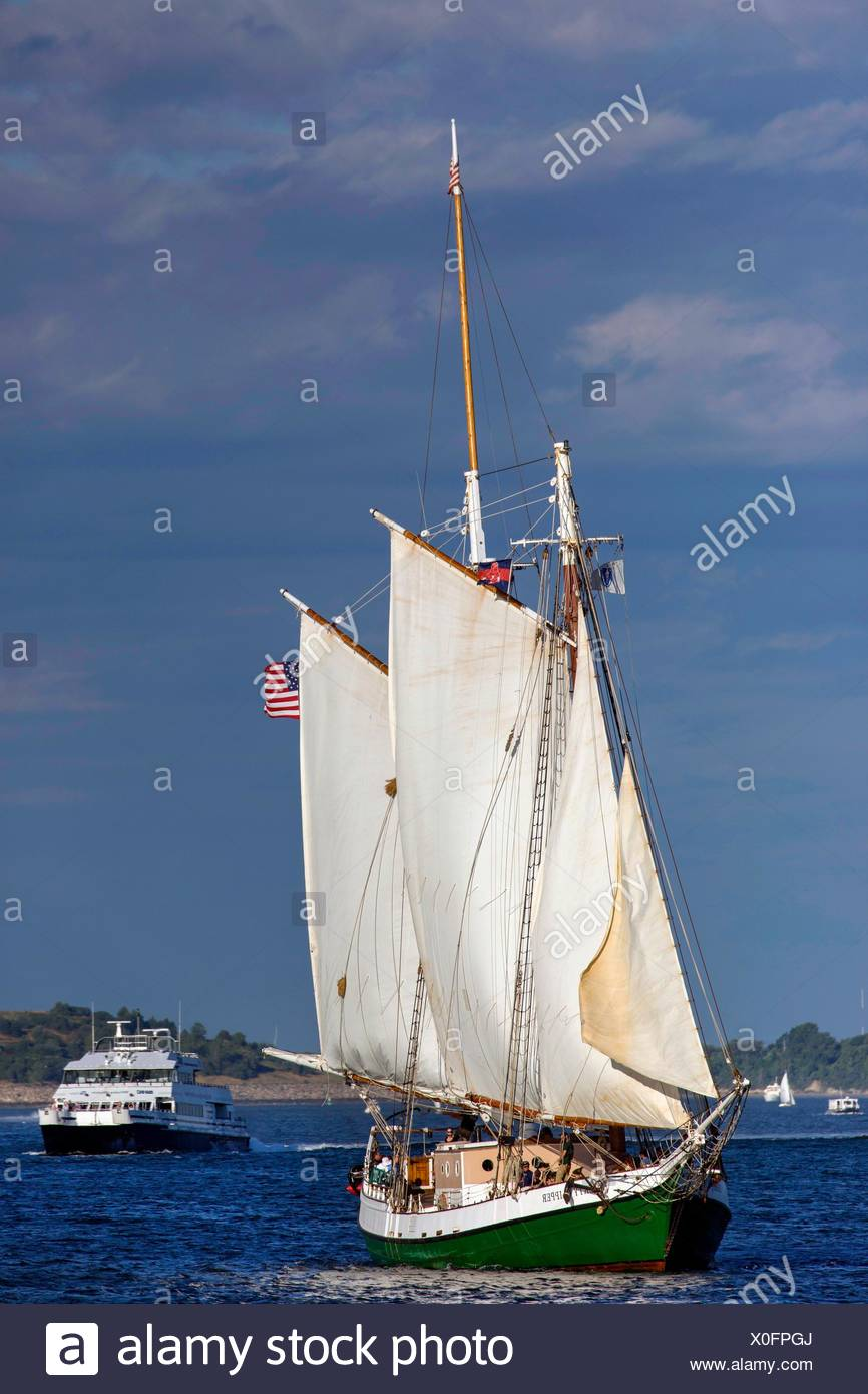 Vintage Sailboat Stock Photos & Vintage Sailboat Stock Images - Alamy