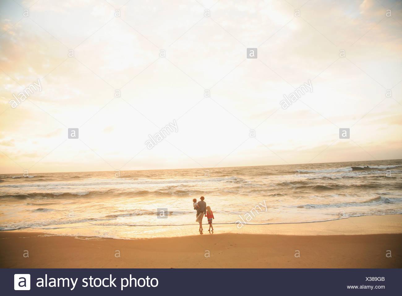 Two Children Sunset Stock Photos & Two Children Sunset ...