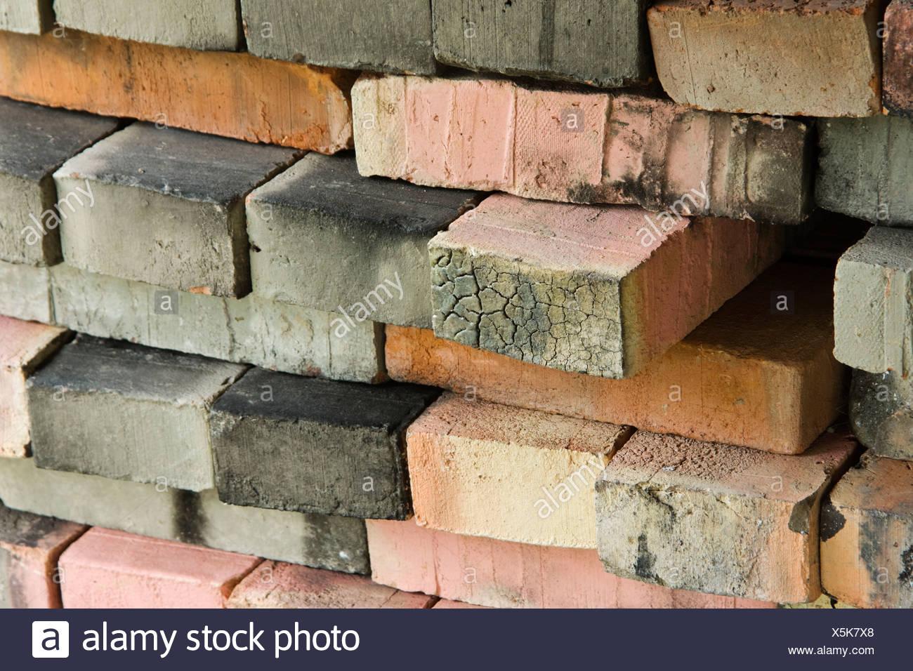 Burnt Clay Brick : Burnt colors stock photos images alamy