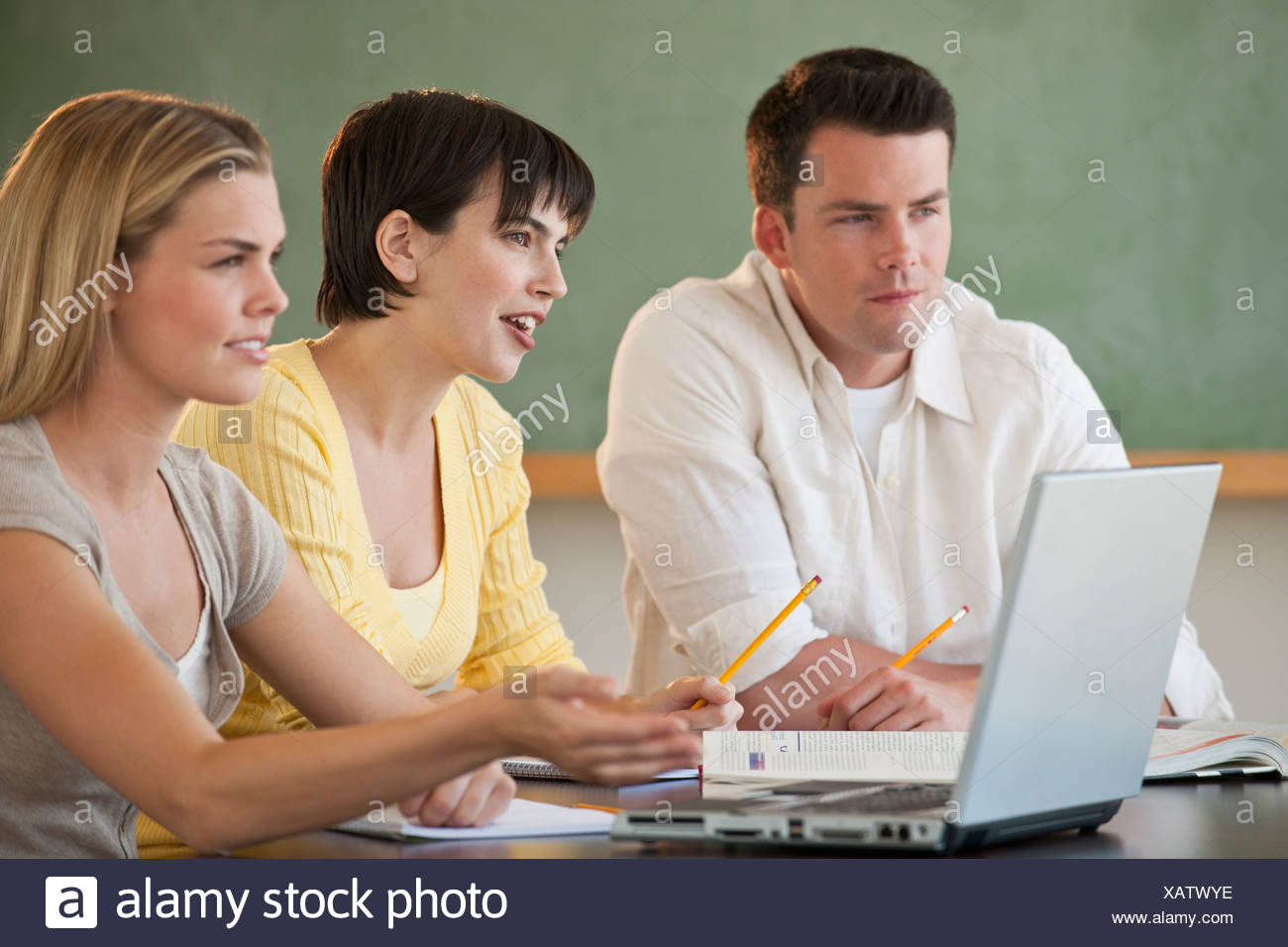 Laptops in classroom