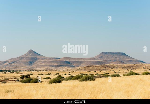 Palmwag Concession, Damaraland, Namibia, Africa - Stock Image