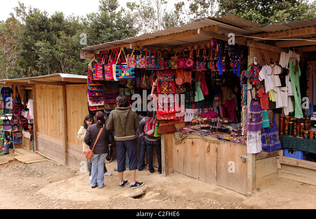 Guatemalan clothing store