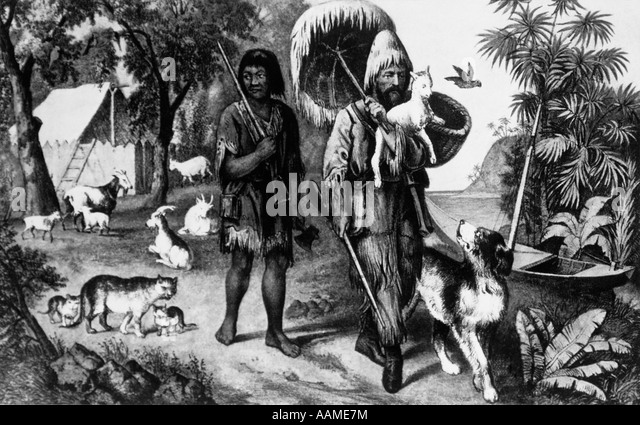 Discuss The Relationship Between Man Friday And Robinson Crusoe