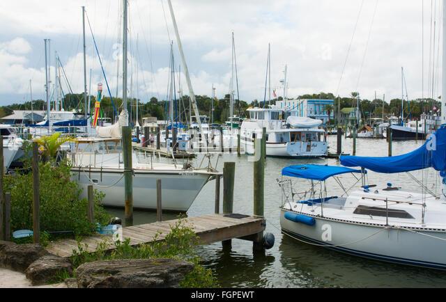 New Smyrna Beach Florida Marina