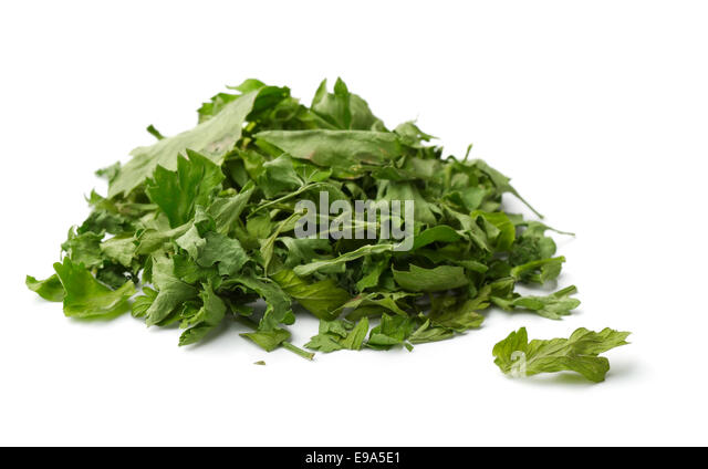 how to make dried parsley