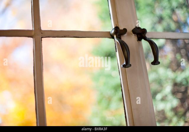 antique window - Stock Image