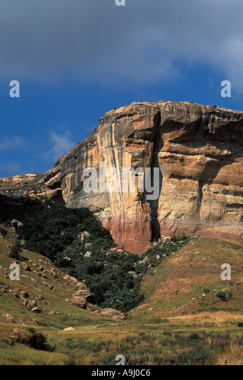 South Africa Golden Gate National Park - Stock Image