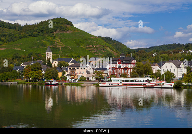 Moselle River, Germany - Stock Image