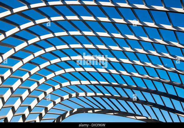 Geometric Lattice Abstract - Stock Image