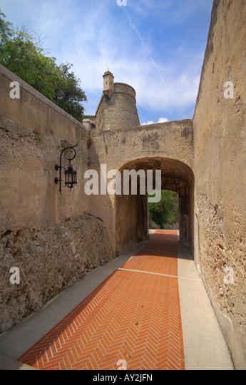 Little Street of France - Stock Image