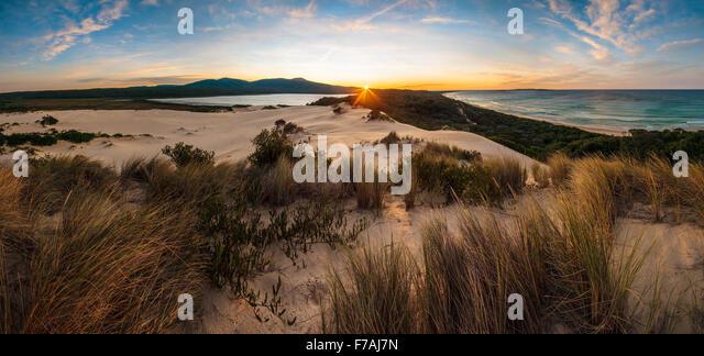 Lake Barracoota Sunrise - Stock Image