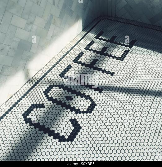 Coffee Tile - Stock Image