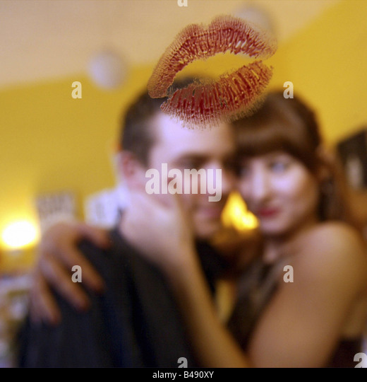 Red lipstick kiss stock photos red lipstick kiss stock for Mirror kisses