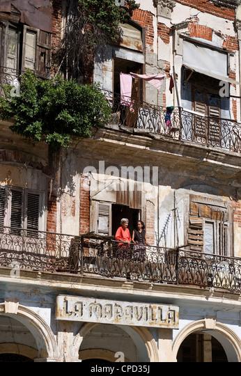Havana Vieja, Cuba, West Indies, Central America - Stock Image
