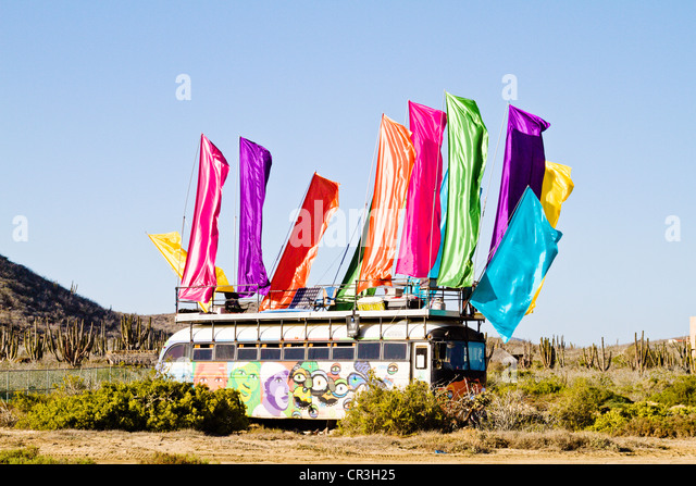 Hippy Bus Stock Photos & Hippy Bus Stock Images