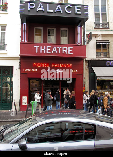 Restaurant Faubourg Montmartree Palace Paris