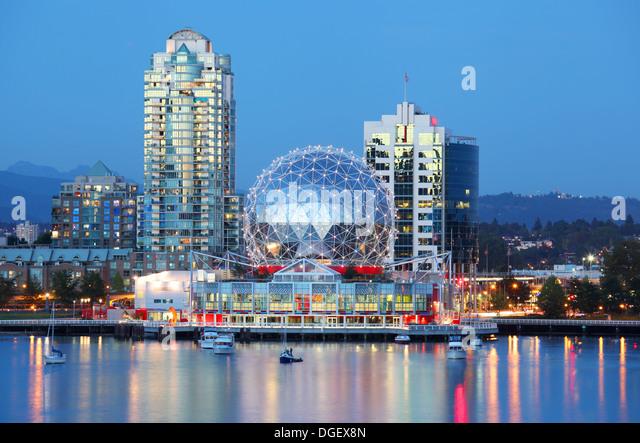 Vancouver in British Columbia, Canada - Stock Image
