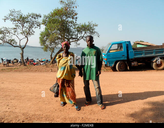 Personen, Uganda. - Stock Image