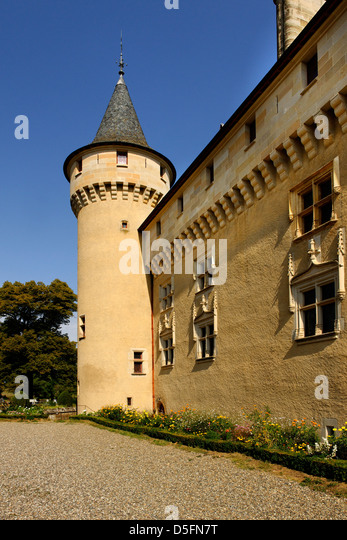 Loc Dieu Abbey, Aveyron, France - Stock Image