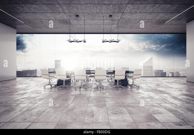 Meeting room - Stock Image