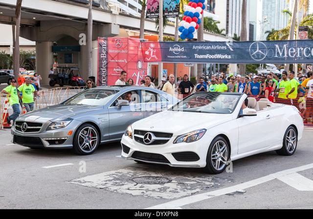 Convertible miami florida stock photos convertible miami for Mercedes benz employee