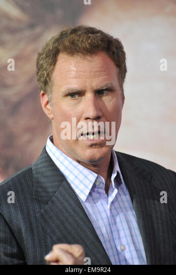 LOS ANGELES, CA - MARCH 25, 2015: Will Ferrell at the Los Angeles premiere of his movie 'Get Hard' at the - Stock Image